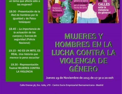 Mujeres y hombres en la lucha contra la violencia de género